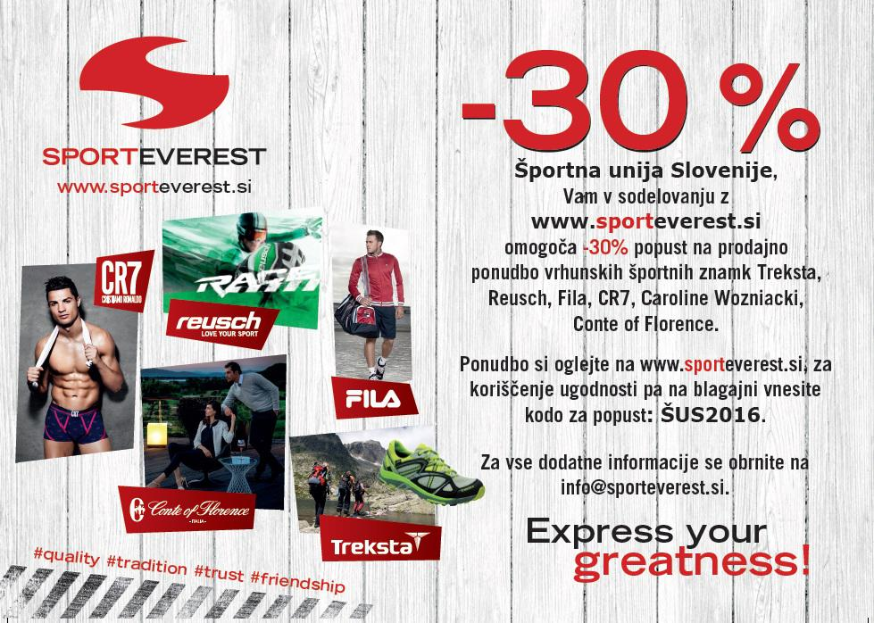 Sporteverest - Treksta, Reusch, Fila, CR7, ...